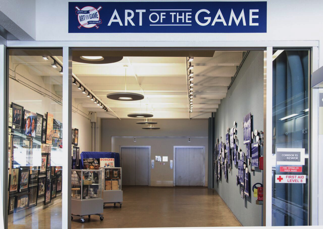 Art of the Game Dodger Stadium Field Level storefront