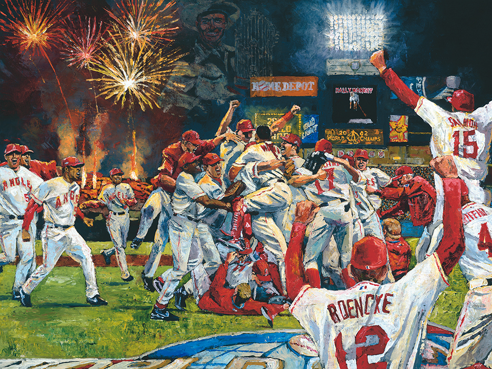 Angels World Champs by Opie Otterstad