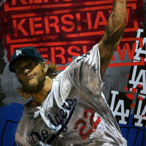 Clayton Kershaw by Stephen Holland (Pitching)