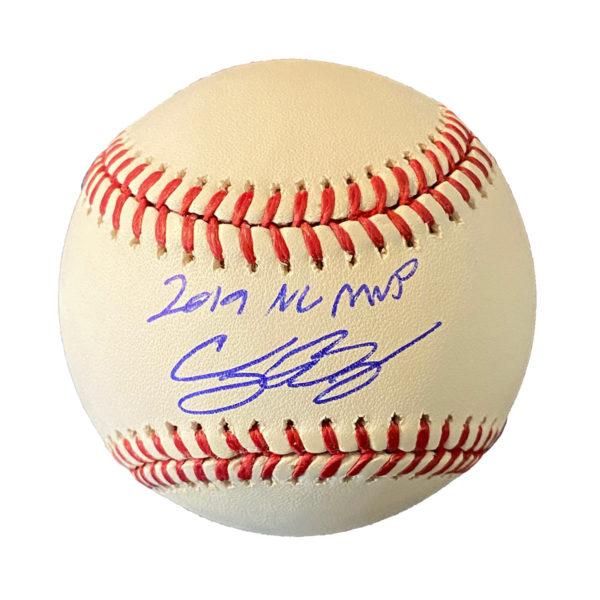 """Cody Bellinger """"2019 NL MVP"""" Autographed Baseball"""
