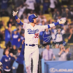 Cody Bellinger 2019 MVP Photo Canvas
