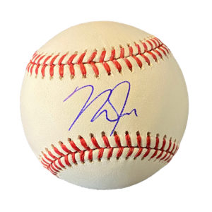 Mike Trout Autographed Ball
