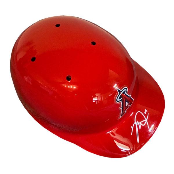 Mike Trout Autographed Batting Helmet