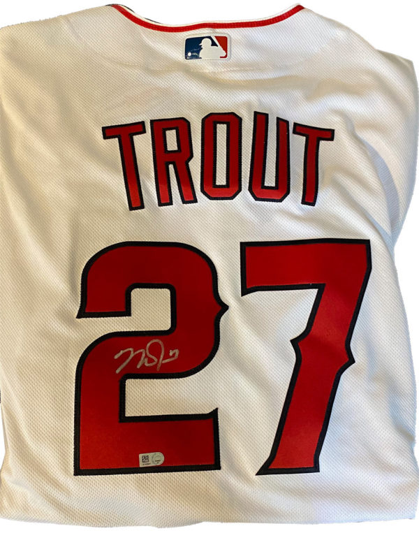 Mike Trout Autographed Jersey