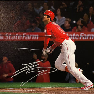 Shohei Ohtani 1st Career HR Photo Canvas