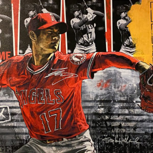 Shohei Ohtani by Stephen Holland (Pitching)