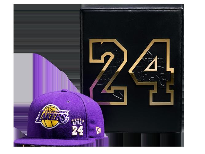 Kobe Bryant Limited Edition Purple Cashmere and Diamond Retirement Cap
