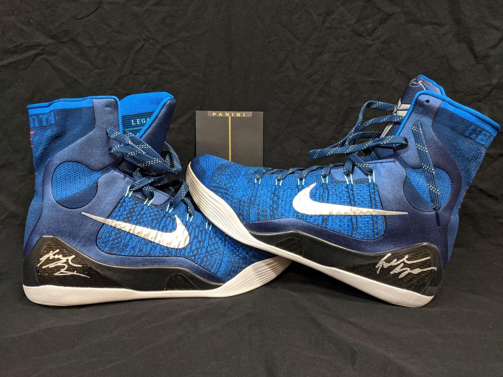 Kobe Bryant Autographed Nike IX Elite Legacy Shoes