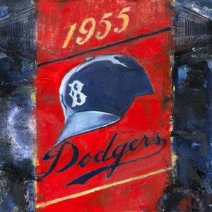 Lindsay Frost 1955 Dodgers