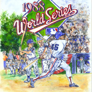 Lindsay Frost 1988 World Series