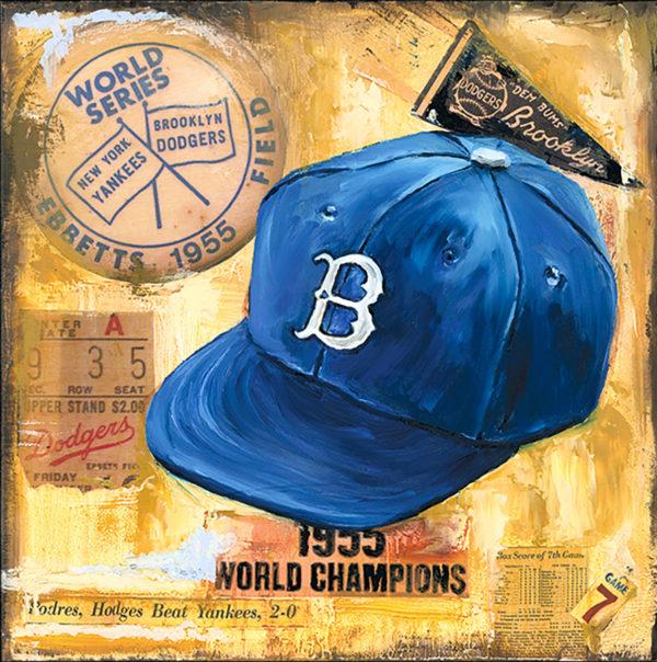 Lindsay Frost Dodgers Cap 1955