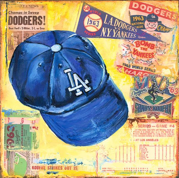 Lindsay Frost Dodgers Cap 1963