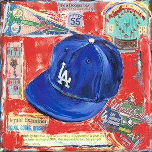 Lindsay Frost Dodgers Cap 1988