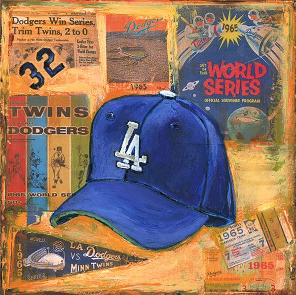 Lindsay Frost Dodgers Cap 1965