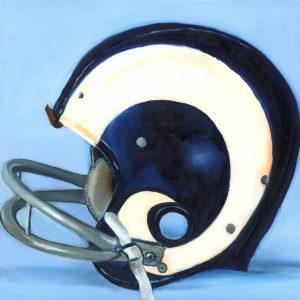 Lindsay Frost Rams helmet