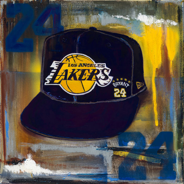 Lindsay Frost Lakers hat